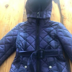 Authentic Burberry hooded quilted jacket 2
